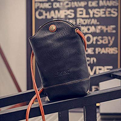 bdf5fdc312f8 OSMOND 2017 NEW ARRIVAL WOMEN BUCKET BAG KOREAN STYLE PU LEATHER SHOULDER  BAGS MESSENGER BAGS CROSSBODY LADIES SMALL BAG SOLID