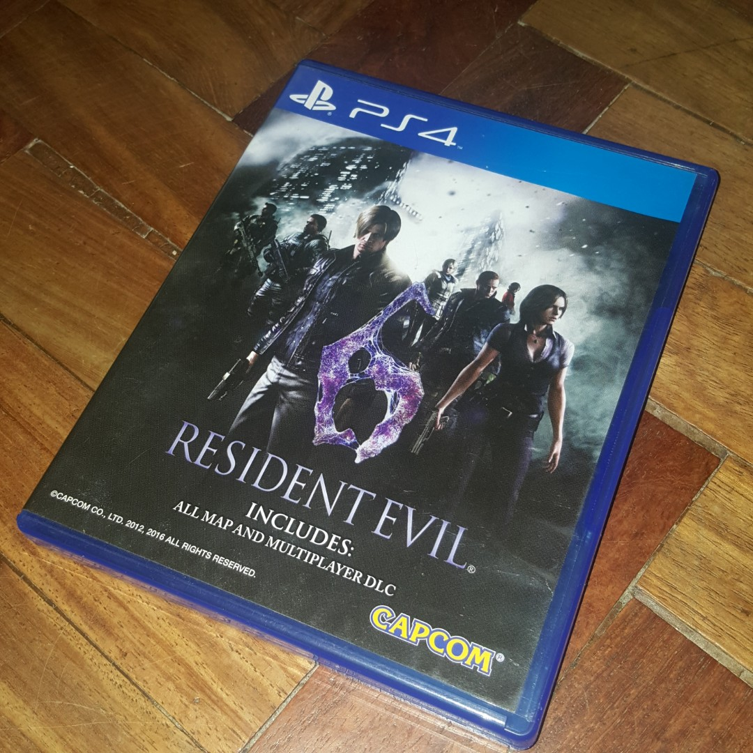Ps4 Resident Evil 6 Video Gaming Games On Carousell Revelations Region 3 English