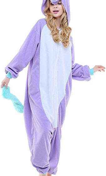 629142b18533 Purple Unicorn Jumpsuit Pyjamas
