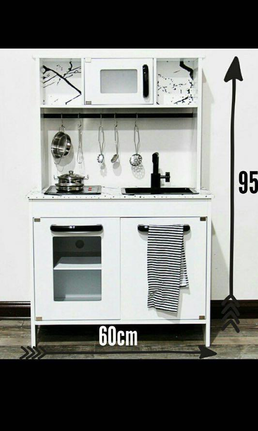 Ready Stocks Wooden Ikea Alike Kitchen Set Babies Kids Toys