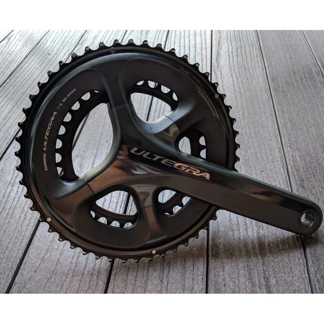Shimano Ultegra 6800 Crankset 50 34 172 5 Mm Bicycles Pmds