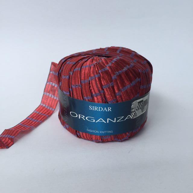 Sirdar Organza (Red)