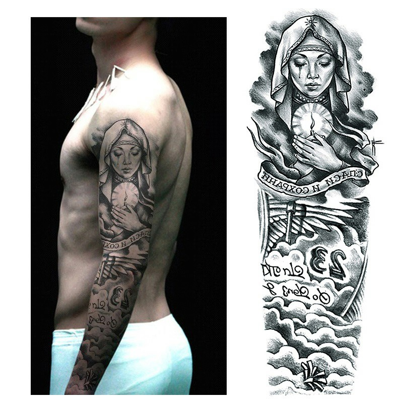 9db6d2474 High Positive Rating ] Temporary Tattoo Sleeve Designs Full Arm ...