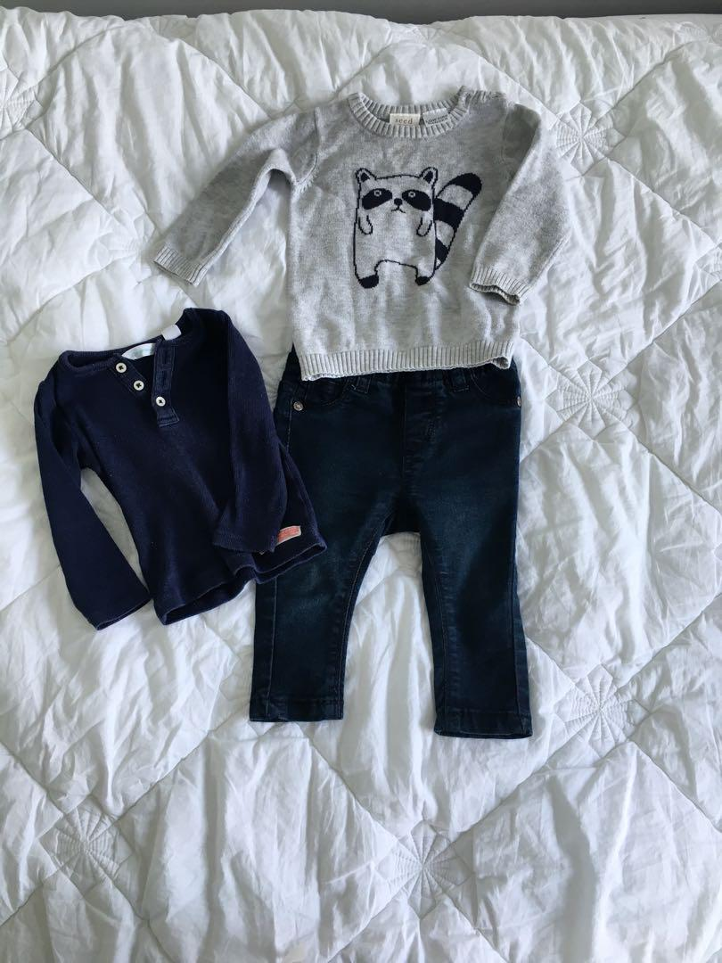 Trendy baby boy outfit