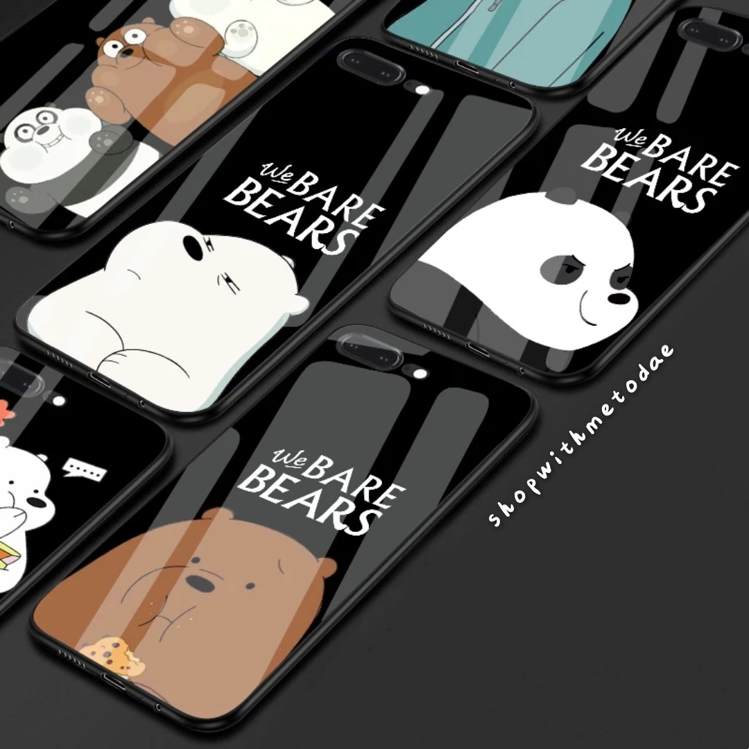 on sale 1b8f6 975f4 We Bare Bears Temp Glass Redmi / Huawei / Oppo / Vivo casing