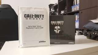 PS3 CALL OF DUTY GHOST PRESTIGE COLLECTORS EDITION