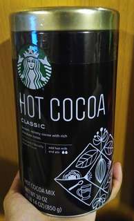 Starbucks hot cocoa 朱古力粉850g