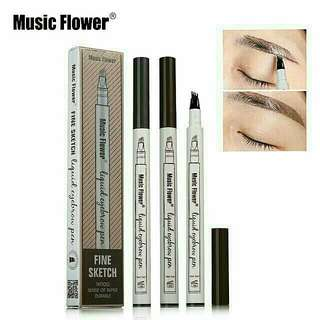 ❤️ Music Flower Embroidery Eyebrow Pencil ❤️