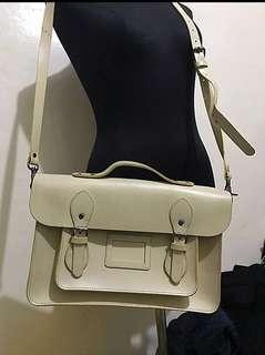 Vintage British Satchel Genuine Leather! Must go !