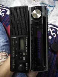 Kenwood & Mitsubishi Clarion Radio