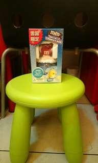 全新M&M's日本版雪樂盒