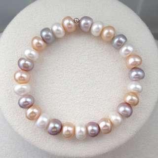 Freshwater Pearl bracelet 天然淡水珠