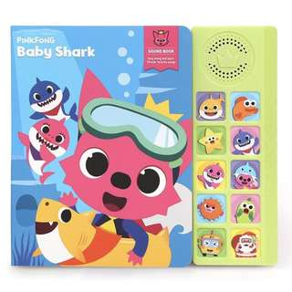 🚚 PinkFong Baby Shark Sound Book
