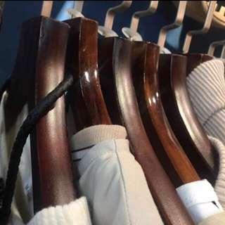 🈹高級木衣架及附褲架