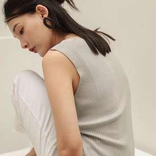 🚚 全新 studio doe 夏日輕薄寬管牛仔褲(白) studiodoe nude #nude 小安