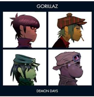 Gorillaz - Demon Days (2018 reissue Black Vinyl)
