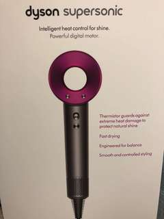 Dyson hair dryer 100% new