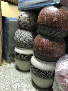 🚚 花心小舖~圓形陶瓷花器