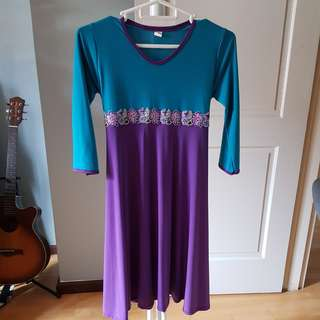 Dress/jubah for 8 & 11 yo #70fashion