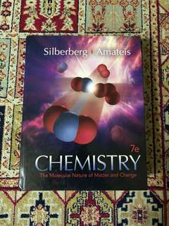 Chemistry: The Molecular Nature of Matter and Change 7e