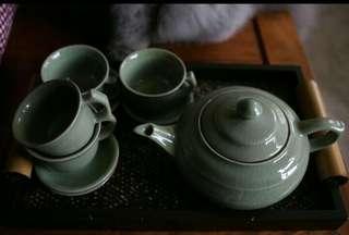 """""""汝窑""""茶具"""