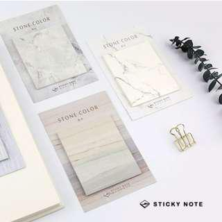 Marble Design Sticky Note