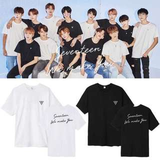 Preorder - Seventeen Tshirt *S-2XL* exc.pos