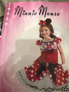 Minnie Mouse Costume for 5 yr