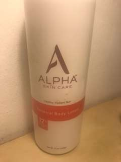 Alpha Hydrox Body Lotion, 12% glycolic AHA