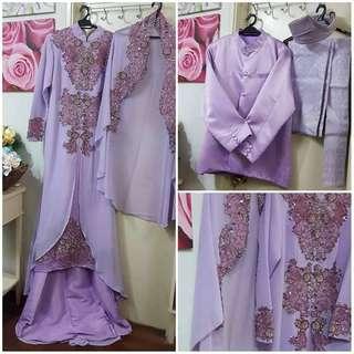 Jubah Dress Muslimah - Bridal