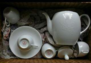 毛澤東頭像薄胎茶具