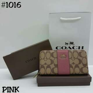 Coach Wallet Pink Color