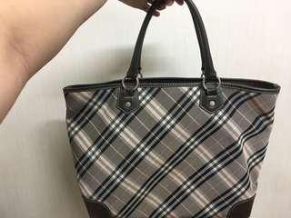 Burberry Handbag blue label japan