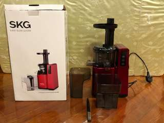 SKG 慢磨榨汁機