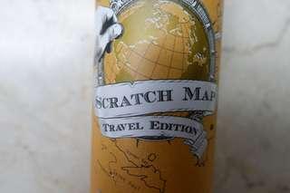 Scratchables World Map