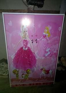 Lemari Pakaian Anak 2 Pintu BL 120 PRC Pretty Girl Pink