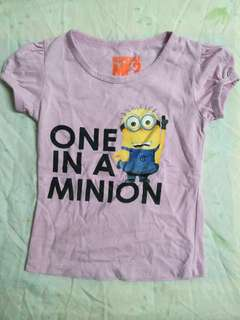 Minion Blouse (3 for 150)