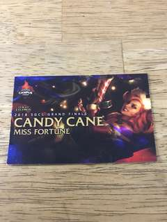 Candy Cane Miss Fortune skin