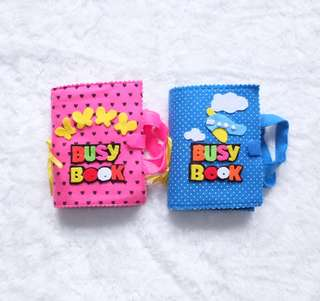 Handmade Busy Book for Toddlers