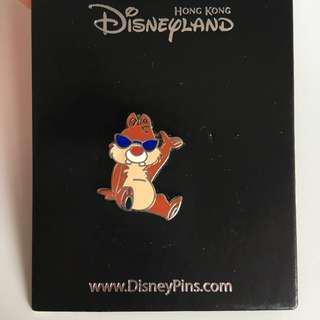 Dale pin 迪士尼徽章 (唔連底卡)