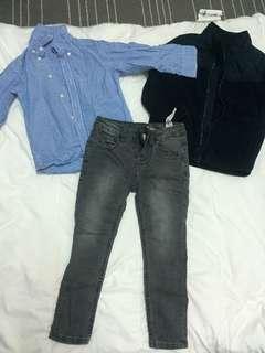 Boys Clothes 3 for RM 80.00