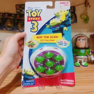 絕版 三眼仔 打地鼠 Alien little green man toystory