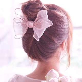 [BNIS] Korean Large Bow Hair Clip