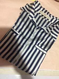 CLN Long sleeves striped polo