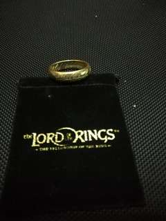"""電影精品收藏 魔戒戒子ring """"Lord of the rings"""""""