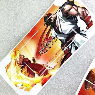 Street Fighter Skin Sticker for Sony PSP 3000