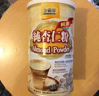 金薌園 純杏仁粉 pure almond powder