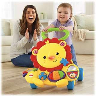 (NEW) Fisher Price 🦁 Musical Lion Walker