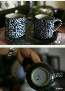 日本清茶杯180ml一對