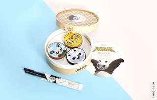 BNIP Kungfu Panda x The Face Shop Set